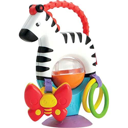 Fisher-Price Cebra activity, juguete colgante para bebé recién nacido Mattel FGJ11