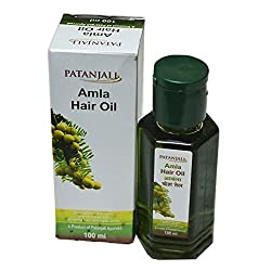 Patanjali Amla Hair Oil - 100 ml (Pack of 3)