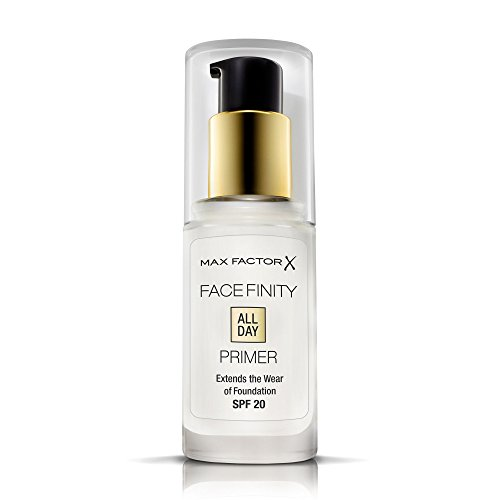 Max Factor Facefinity All Day Primer - Mattierende Make-Up Base für eine langanhaltende Foundation - Lichtschutzfaktor 20 - 1 x 30 ml