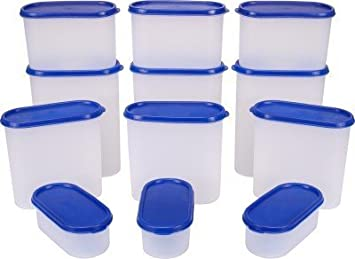 Buy TallBoy Modular Kitchen Food Storage Plastic Containers, Set Of 12 Pcs,  Candy Red Online At Low Prices In India   Amazon.in Pictures