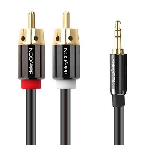 deleycon-15m-hq-stereo-audio-klinke-zu-2x-cinch-kabel-35mm-klinken-stecker-zu-2x-rca-cinch-stecker-m