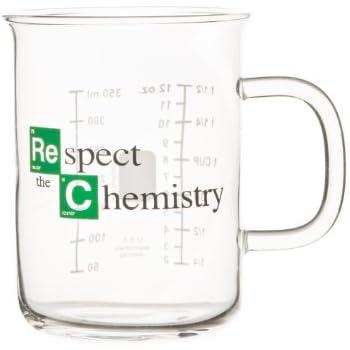 """Breaking Bad - Tasse bécher - """"Respect the Chemistry"""" (400 mL)"""