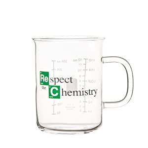 "Breaking Bad - Tasse bécher - ""Respect the Chemistry"" (400 mL)"