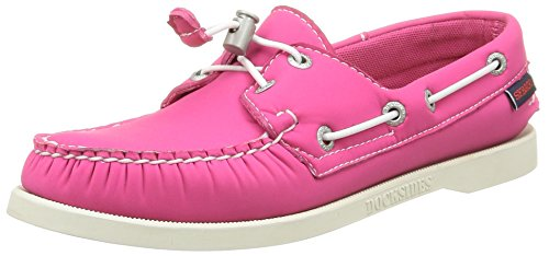 Sebago Docksides, Chaussures Bateau Femme Rose (Fuchsia)