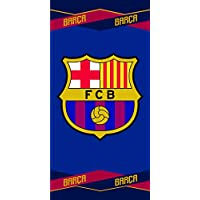 FCB FC Barcelona Toalla Color azulgrana 70 x 140 cm Skybrands A/S 5710756027491