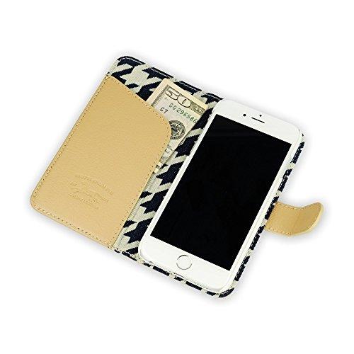 """QIOTTI >             APPLE iPHONE 6 PLUS / 6S PLUS (5,5"""")             < incl. PANZERGLAS H9 HD+ 2-in-1 Booklet mit herausnehmbare Schutzhülle, magnetisch, 360 Grad Aufstellmöglichkeit, Wallet Case Hülle Tasche handgefertigt  LIKE"""