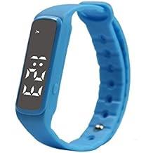 Sannysis Mujeres Reloj LED Fecha Deportes pulsera Digital reloj de pulsera (03)