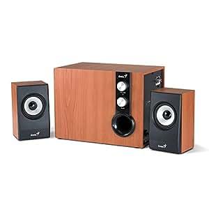 Genius 31730972100 Enceinte pour MP3 & Ipod Marron (Import Espagne)