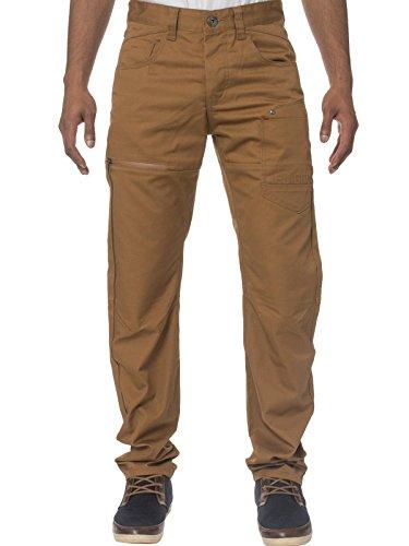 eto-jeans-da-uomo-designer-modello-chino-tapered-fit-pantaloni-em-574-tan-w32-l32