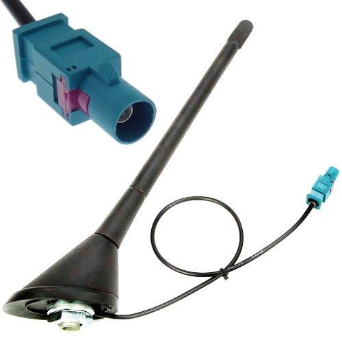 Dachantenne Antenne Stabantenne Dichtung Antennenfuss Sockel Adapter Radio FM/AM Fakra Stecker -