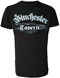 The Winchester Tavern Mens Black Shaun Of The Dead Inspired T Shirt