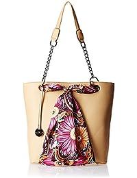 Diana Korr Women's Shoulder Bag (Beige) (DK26HAPR)