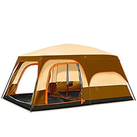 STAR HOME Grande taille automatique famille tentes 6-8 personnes Tentes Camping