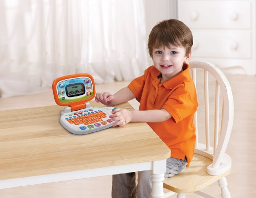 Image of VTech Pre-School My Laptop - White/Orange