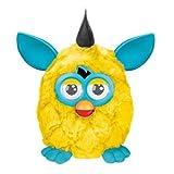 Furby (gelb-türkis, schwarze Haare) Französisch!