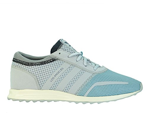 adidas Herren Los Angeles Sneakers, Blau Neon clear aqua /grey/grey