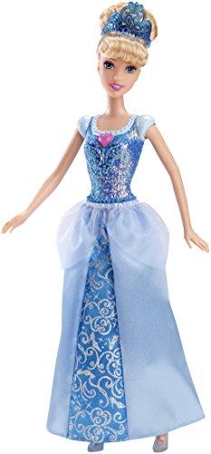Mattel Disney Princess CFB72 - Märchenglanz Prinzessin Cinderella Puppe