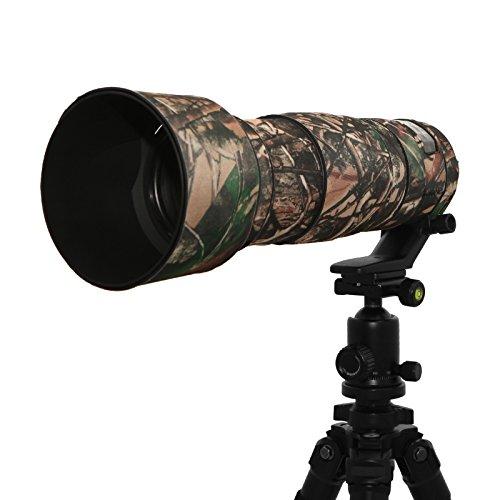 Selens 200-500mm F5.6 VR Gummi Kamera Objektiv Tarnung Schutzmantel Lens Protective Coat für Nikon