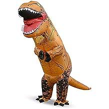 8fb85e700 Prettycos Inflables Disfraz de Sumo Dinosaurio hinchaple Traje Vestido  Inflatable Costume Suit para Fiesta Halloween Cosplay