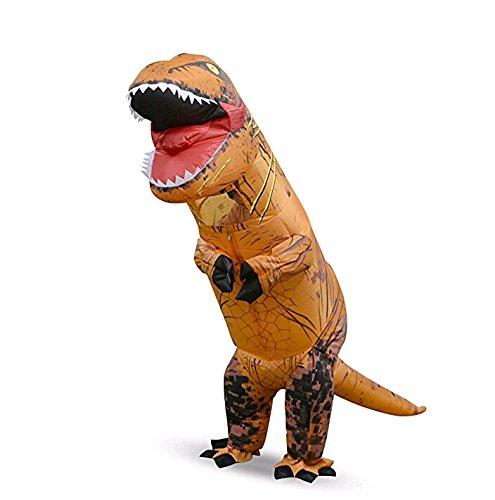 Aufblasbare Dinosaurier Kostüme Fasching Karneval Geburtstagsparty Rollenspiel Verkleidung für Erwachsene und Kinder (Dinosaurier Erwachsene Kostüme)