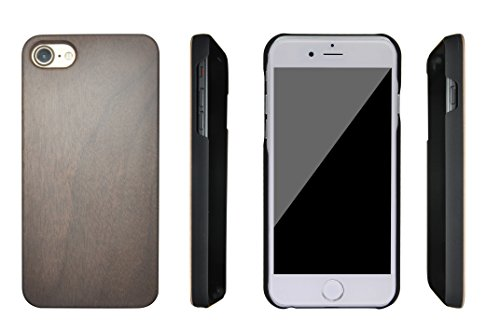 eimo iPhone 7 Housse en bois pour Apple iPhone 7 4.7'' -19 12