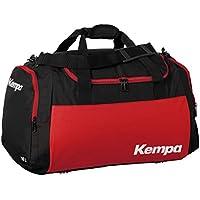 Kempa Teamline - Bolsa de Deportes Blanco/Rojo Talla:Large