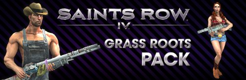 Saints Row 4 Grass Roots Pack DLC