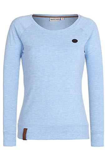 Naketano Female Sweatshirt Krokettenhorst Amazing Blue Melange, L