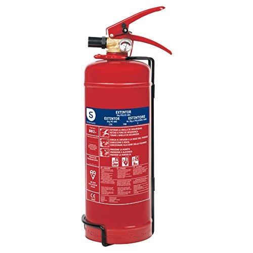 Smartwares FEX-15122 Extintor de Polvo Seco Resistencia Al Fuego