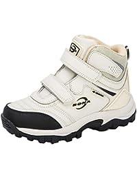 2020 Nuevo diseñador de Felpa Botas de Nieve Calzado Deportivo para niños Botas de Senderismo Antideslizantes de Suela Gruesa para niños Senderismo Escalada de montaña Zapatos para Acampar