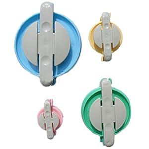 SmartDIY 4 Größen Herstellungs-Set für Pompoms Pom-Pom Maker Bommel-Machen