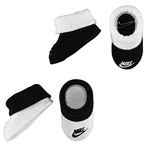 NIKE Baby Socken Jungen Krabbelschuhe & Puschen schwarz/weiß
