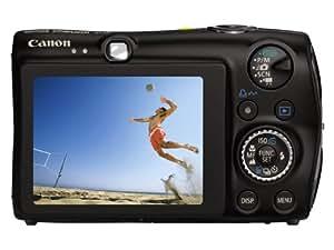 Canon Digital IXUS 980 IS Digitalkamera (14 Megapixel, 3,7-fach optischer Zoom, 6,4 cm (2,5 Zoll) Display) schwarz