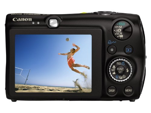 Canon Digital IXUS 980 IS Digitalkamera (14 Megapixel, 3,7-fach optischer Zoom, 6,4 cm (2,5 Zoll) Display) schwarz
