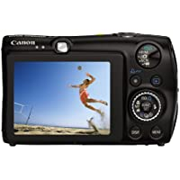 Canon Digital IXUS 980 IS, black - Cámara Digital Compacta 14.7 MP