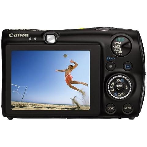 Canon Digital Ixus 980 Is - Fotocamera Digitale - Compatta - 14.7 Mpix - Zoom Ottico: 3.7 X - Memoria Supportata: Mmc, Sd, Scheda Di Memoria Sdhc, Mmcplus - Nero