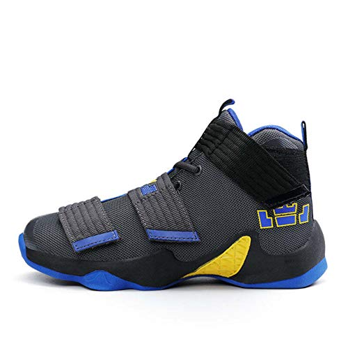 Mens Basketball Shoes LBJ 11 XI Canvas Performance Sport Shoes Athletic Sneakers Blue US 10=EU 44 -