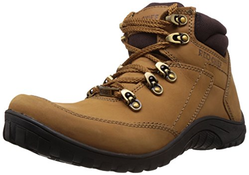 Redchief Men's Rust Leather Boots - 7 UK  (RC5027 022) image