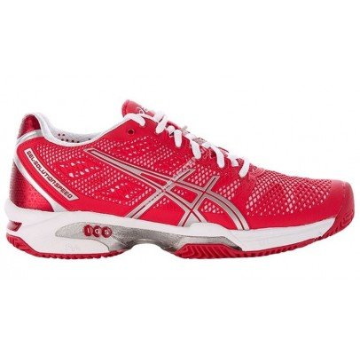 Asics Damen Tennisschuhe Outdoor Gel Solution Speed 2 Clay Rot (500) 38EU