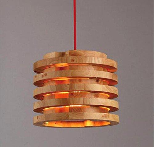 LoveScc Persönlichkeiten kreativ Haushalt Beleuchtung antiken Möbeln und Leuchtern einem Kopf und dem Coffee Shop Studie Holz- Lampen warmes Licht 26 * 28 Cm (Antike Möbel Amerikanische)