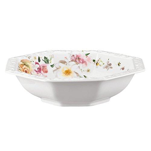Rosenthal 10430-407165-13100 Saladier Porcelaine, Rose, 20,5 x 20,7 x 6,8 cm