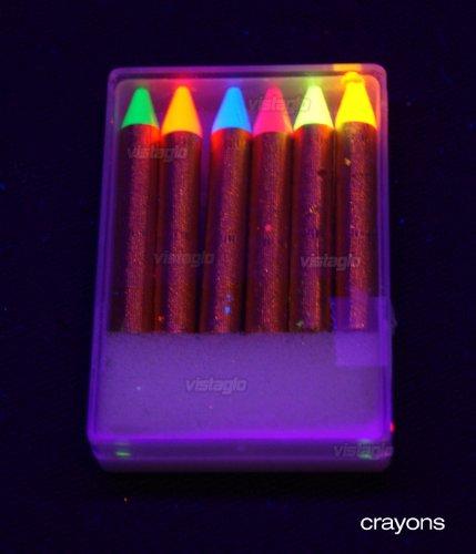 Boite 6 crayons UV Ultra Violet Janet