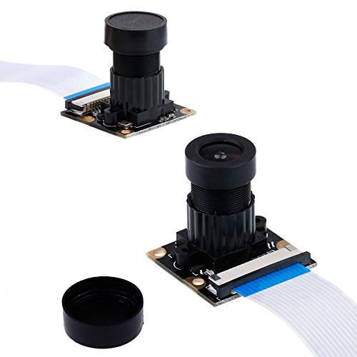 41lz1q5qIcL - Zacro Módulo de Cámara con Sensor Cámara de Vídeo de HD Soporte Visión Nocturna para Raspberry Pi 3 Modelo B B + A + RPi 2 1 Cámara SC15