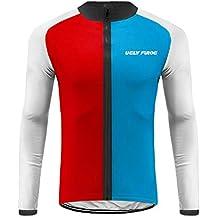 Future Sports UGLYFROG Bike Wear Maillot Bicicleta Hombre Manga Larga MTB,Maillot Ciclismo Hombre Invierno