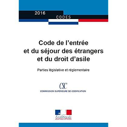Code de l'entrée et du séjour des étrangers et du droit d'asile (Codes)