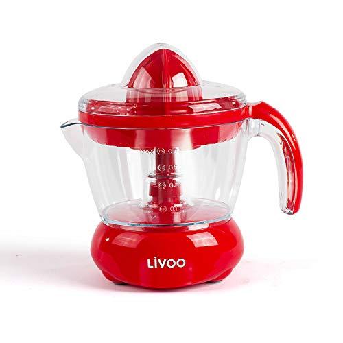 Livoo dod131r exprimidor eléctrico rojo