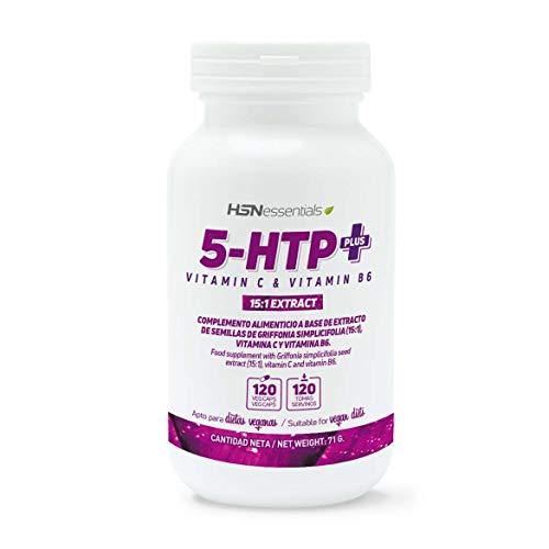 5-HTP Plus de HSN Essentials | 200mg | Con Vitamina C y...
