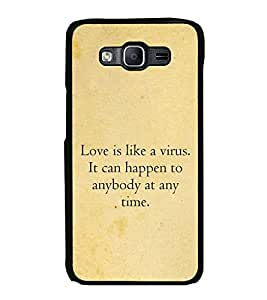 Printvisa Ultra Love Quote 2D Hard Polycarbonate Designer Back Case Cover for Samsung Galaxy ...