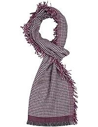 ROYALZ foulard écharpe homme automne hiver printemps léger doux motif rayée  carreaux effrangé multicolore 79a3e0c85b6