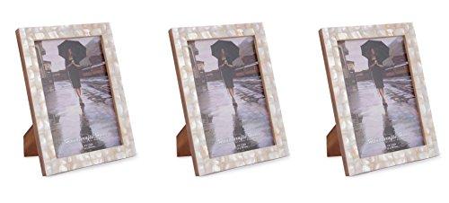 Kunsthandwerk Home Bilderrahmen Perlmutt Shabby Chic Vintage Frames Größe 12,7x 17,8cm-Set von 3Stück